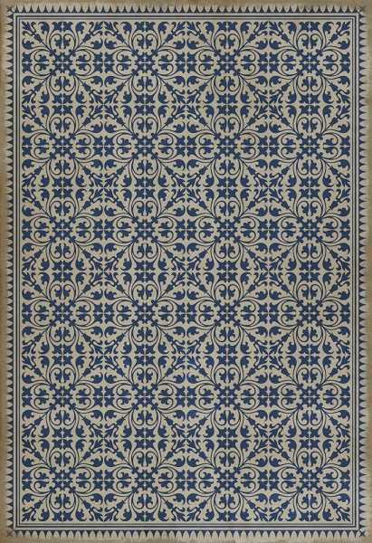 Navy Transitional Area Rug