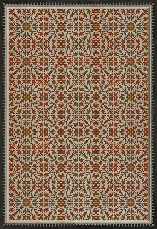 Red Transitional Area Rug