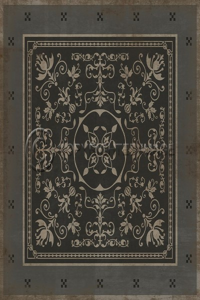Grey, Ivory Outdoor / Indoor Area Rug