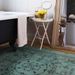 Product Image of Teal Transitional Area Rug
