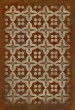 Product Image of Rust, Ivory Transitional Area Rug