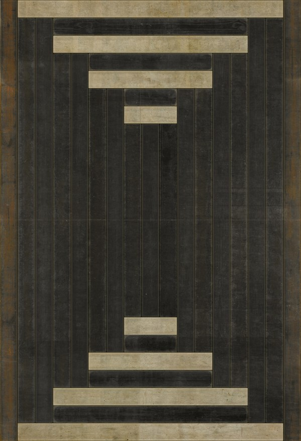 Brown, Cream Transitional Area Rug