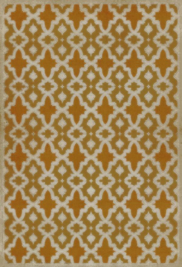 Gold, Orange Transitional Area Rug