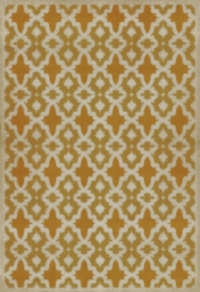 Gold, Orange Contemporary / Modern Area Rug