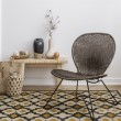 Product Image of Gold, Black Transitional Area Rug