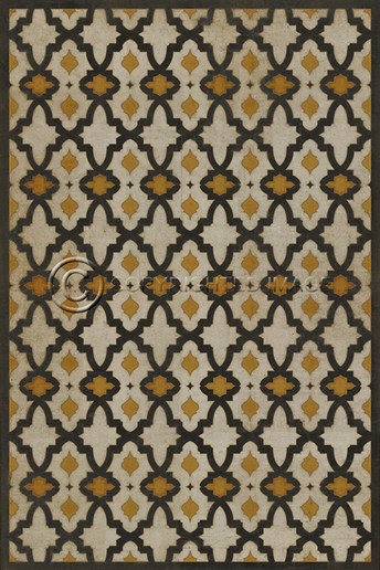Vintage Vinyl Floor Cloths Rajha arearugs
