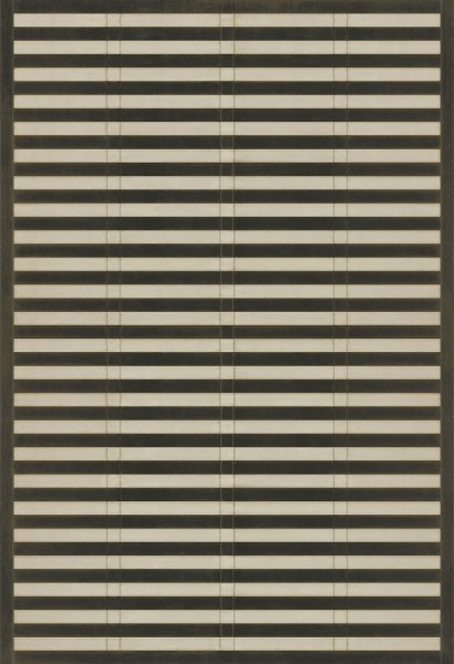 Brown, Ivory Striped Area Rug