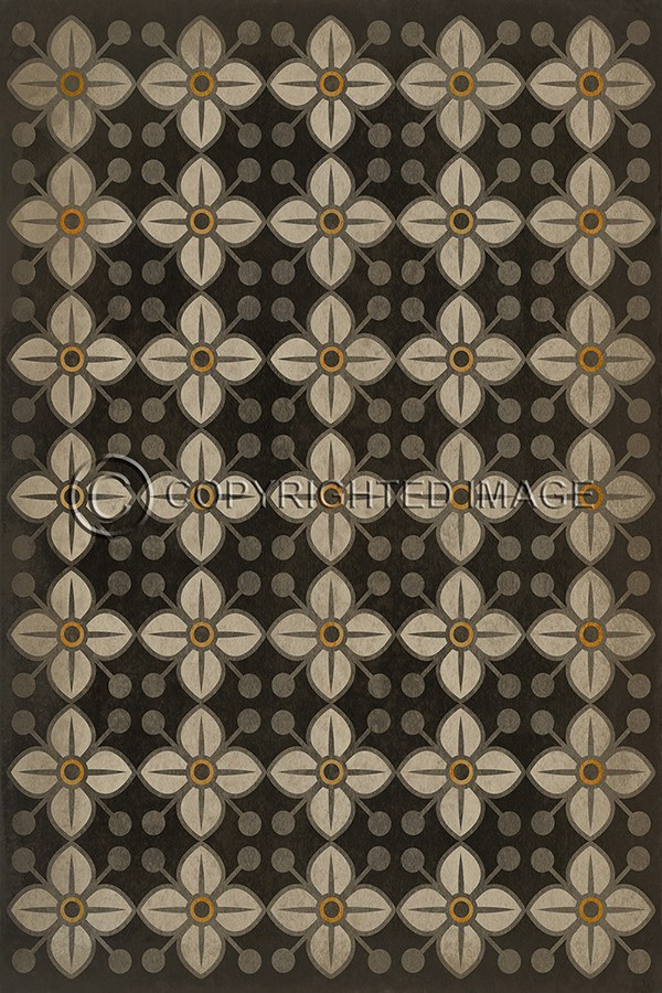 Spicher And Company Vintage Vinyl Floor Cloths Daffodils