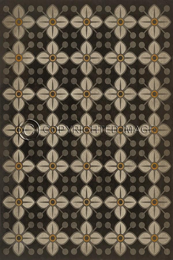 vinyl runner floor cloth shop floors home cloths spicher blue lattice cottage