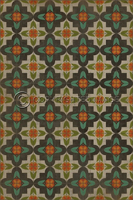 Spicher And Company Vintage Vinyl Floor Cloths Annas