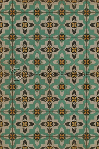 Vintage Vinyl Floor Cloths Passpartou arearugs