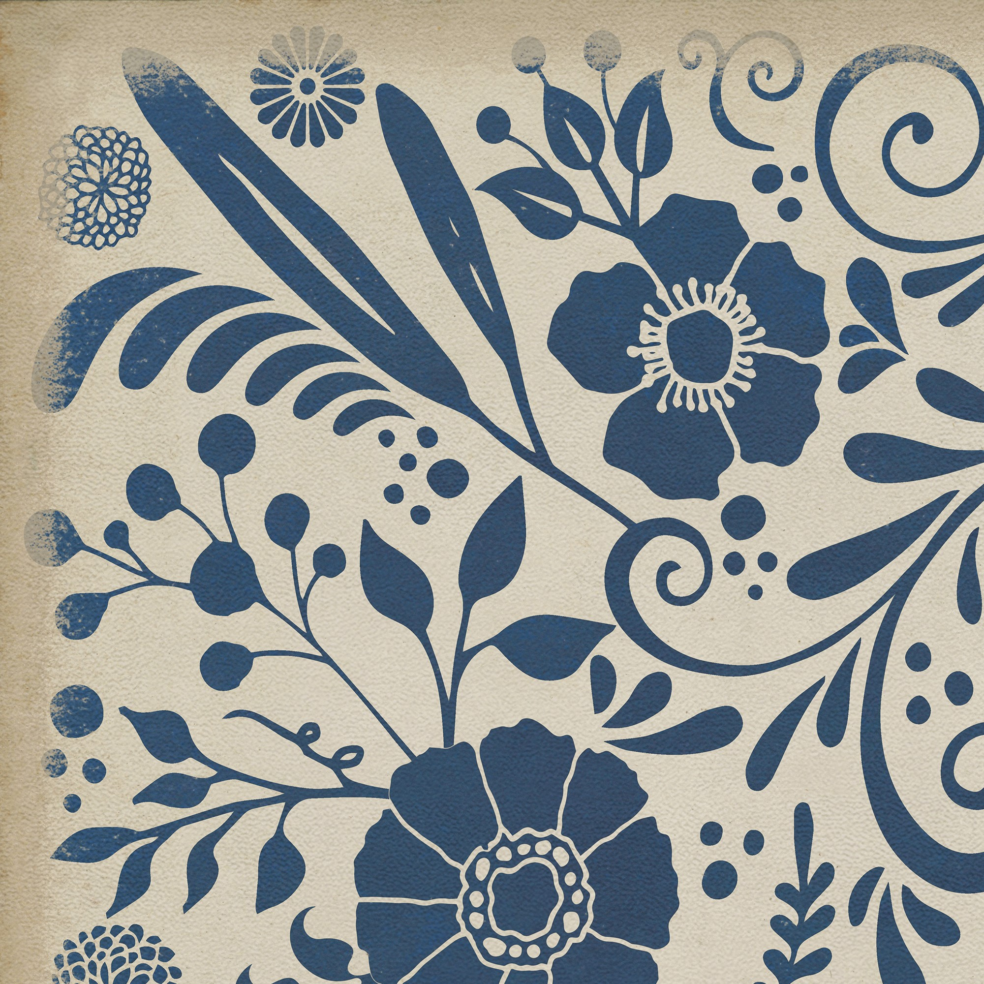 Spicher And Company Vintage Vinyl Floor Cloths Liddell Rugs Rugs Direct
