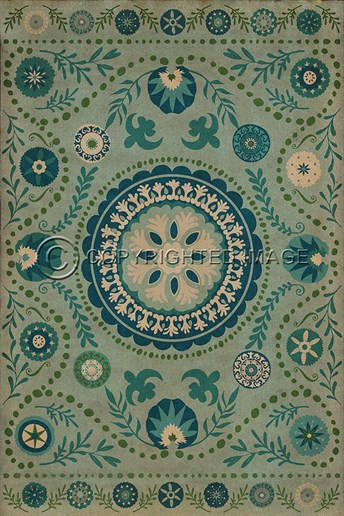 Spicher And Company Vintage Vinyl Floor Cloths Boho Rugs