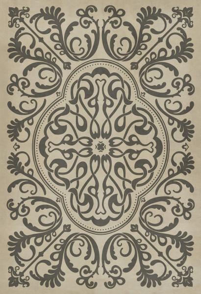 Dark Grey, Ivory Contemporary / Modern Area Rug