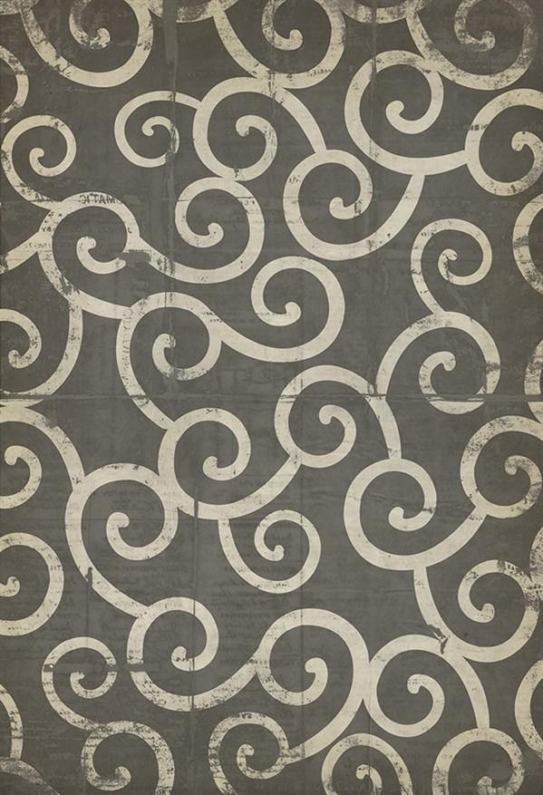 Grey, Cream Transitional Area Rug