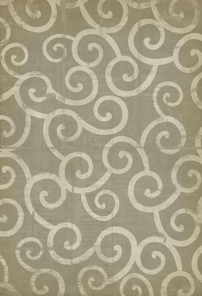 Grey, Ivory Contemporary / Modern Area Rug