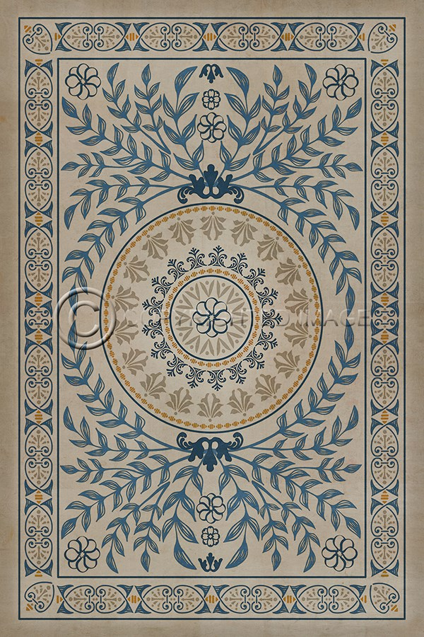 Spicher And Company Vintage Vinyl Floor Cloths Villa D