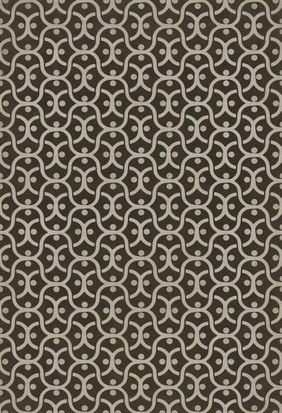 Distressed Black, Silver Contemporary / Modern Area Rug