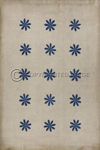 Vintage Vinyl Floor Cloths Cloche arearugs