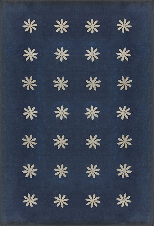 Navy, Ivory Transitional Area Rug