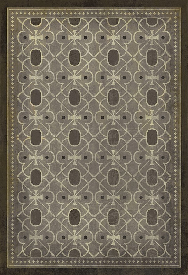 Grey Outdoor / Indoor Area Rug