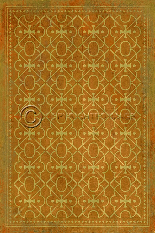 Spicher And Company Vintage Vinyl Floor Cloths Colonel