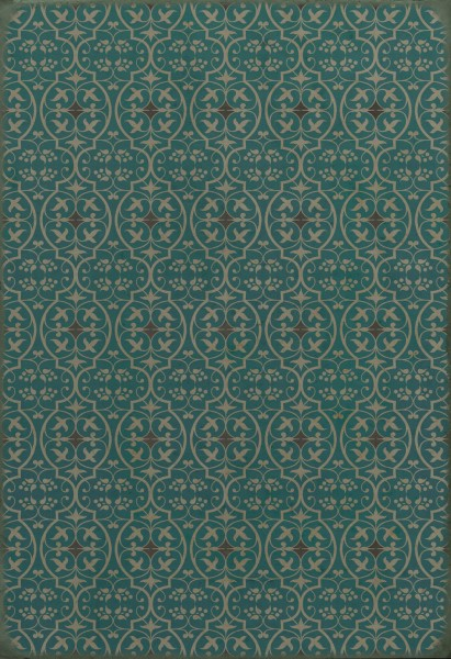 Teal Transitional Area Rug
