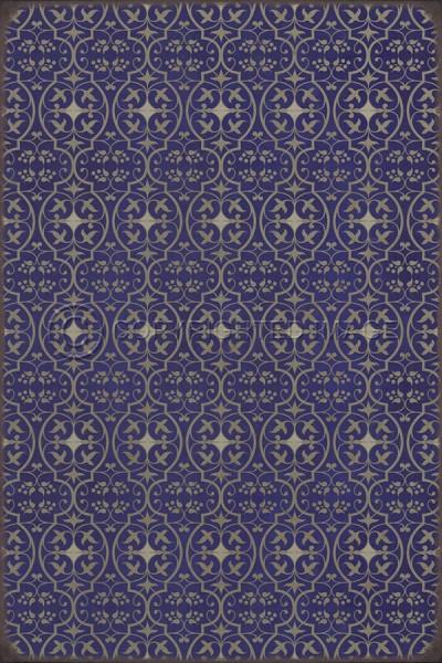 Purple Transitional Area Rug