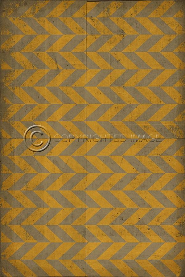 Gold, Grey Contemporary / Modern Area Rug