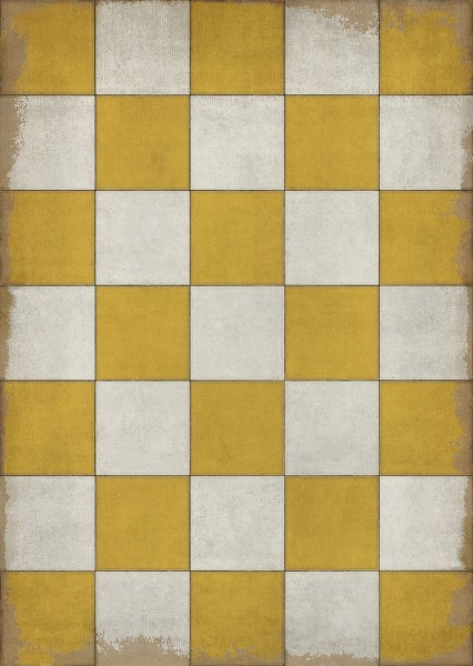 Gold, Ivory Geometric Area Rug