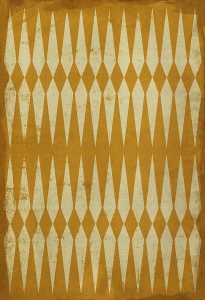 Yellow, Orange Contemporary / Modern Area Rug
