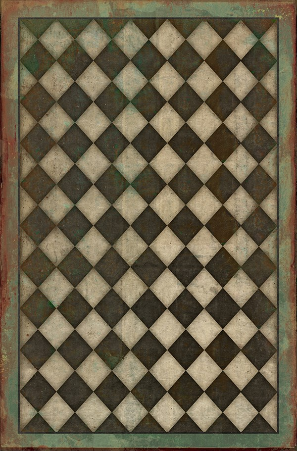 Brown, Green Outdoor / Indoor Area Rug