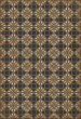Product Image of Outdoor / Indoor Distressed Black, Cream, Gold (Paul Revere) Area Rug