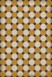Product Image of Outdoor / Indoor Gold, Cream, Black (Jefferson) Area Rug