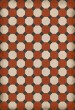 Product Image of Outdoor / Indoor Red, Cream, Distressed Black (Lee) Area Rug
