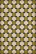 Product Image of Outdoor / Indoor Green, Cream, Distressed Black (Sherman) Area Rug