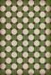 Product Image of Outdoor / Indoor Green, Cream, Distressed Black (Wythe) Area Rug