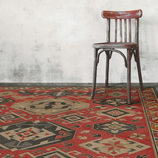 Vintage Vinyl Floor Cloths