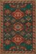 Product Image of Outdoor / Indoor Red, Green, Khaki (Clove) Area Rug