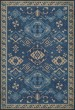 Product Image of Outdoor / Indoor Blue, Cream (Indigo) Area Rug
