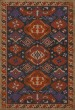 Product Image of Outdoor / Indoor Red, Purple, Khaki (Lavender) Area Rug