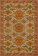 Product Image of Outdoor / Indoor Orange, Red, Green (Saffron) Area Rug