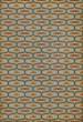 Product Image of Outdoor / Indoor Beige, Green, Mustard (Austen) Area Rug