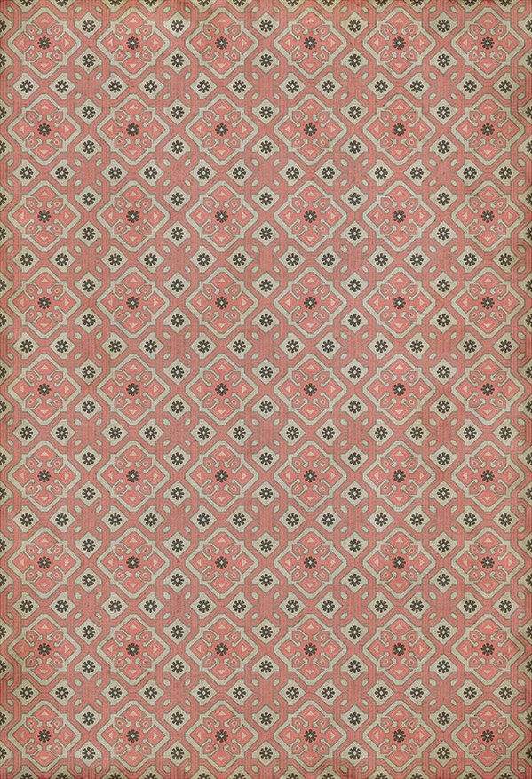 Pink, Grey, Cream (Ashton) Outdoor / Indoor Area Rug