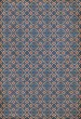 Product Image of Outdoor / Indoor Blue, Red, Cream (Rumbold) Area Rug
