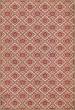 Product Image of Outdoor / Indoor Cream, Red (Pinkney) Area Rug