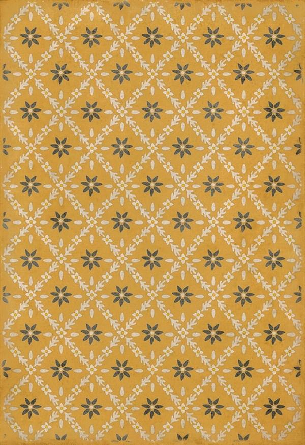 Yellow, Cream, Grey (Catesby) Outdoor / Indoor Area Rug