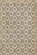 Product Image of Outdoor / Indoor Cream, Distressed Grey, Yellow (Clayton) Area Rug