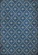 Product Image of Outdoor / Indoor Blue, Distressed Grey (Colden) Area Rug