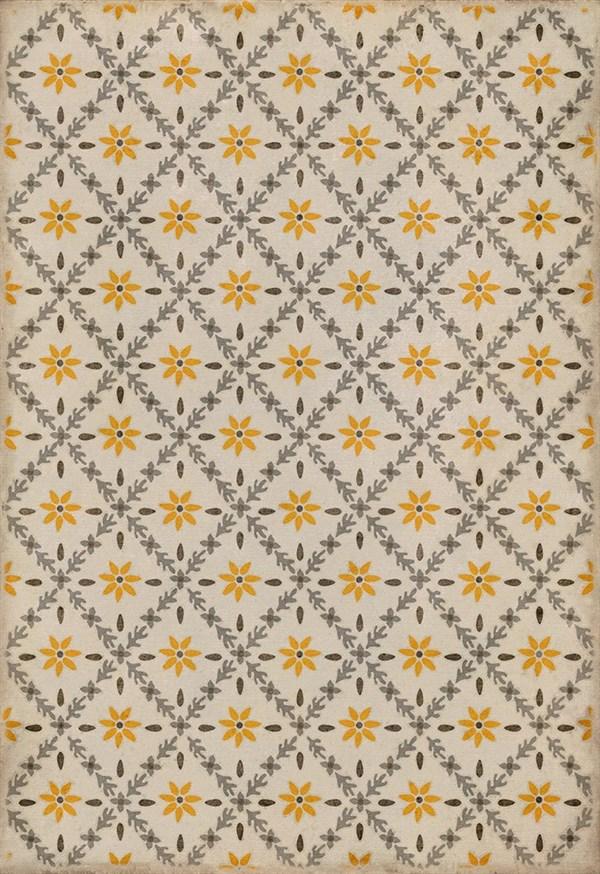 Beige, Grey, Yellow (Collinson) Outdoor / Indoor Area Rug
